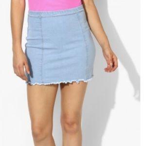 Light blue denim / Skirt